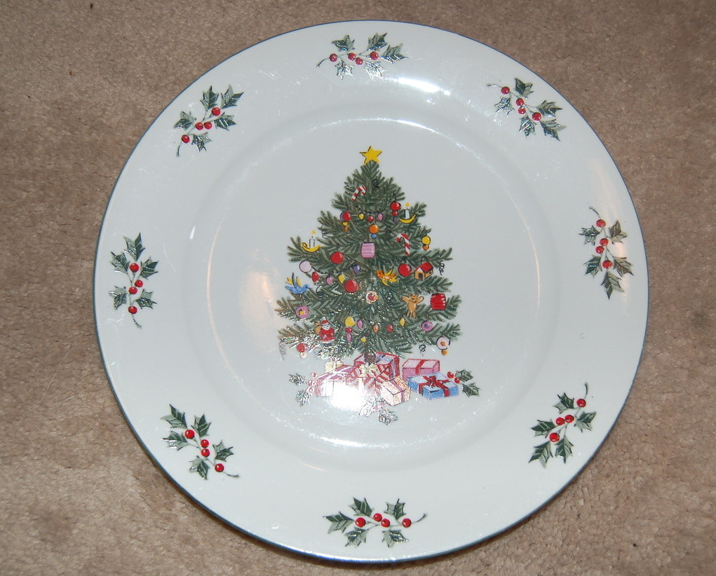 morning dinner plates set of 4 holiday dinnerware other tableware