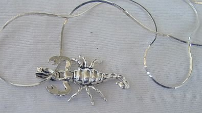 Buy scorpion c pendant at AtomicMall.com