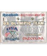 Vintage Reebook Sponsor 1992 Olympic Team Label... - $7.00