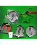 Old Aluminum Cookie Cutters Lot R - $6.00