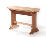 Buy Furniture - New Western Red Cedar Patio Bench Outdoor Patio Furniture