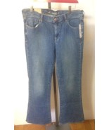 OLD NAVY Wms SWEETHEART Blue Jeans 12 Regular C... - $22.50