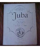 Sheet Music Black American JUBA Negro Dance 191... - $6.99