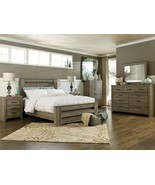 LUNA - 5pcs MODERN COTTAGE GRAY OAK QUEEN KING ... - $1,358.75