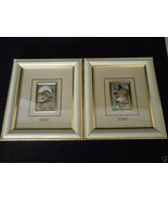 2 Framed Clown Pictures Mida Italy Sterling Sil... - $168.29