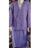 Atrium Womens Lavender Church Dressy Lined Skir... - $74.25