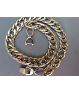VTG Sperry Chain Gold Plated Curb Chunky Neckla... - $14.99