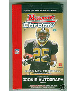 2006 Bowman Chrome NFL Football, Factory Sealed... - $82.31