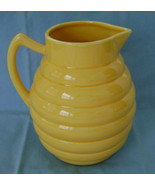 Bees at Home Stoneware Pitcher - $20.00