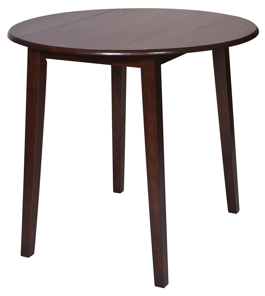 for Round wood dining table with leaf
