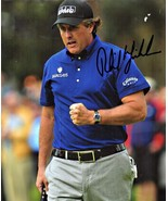 8 x 10 Autographed Photo of Phil Mickelson RP - $6.00