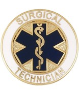 Surgical Technician Lapel Pin Blue Star of Life... - $12.57
