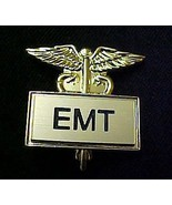 EMT Emergency Medical Technician Caduceus Pin 3... - $13.52