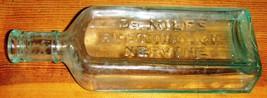 Antique Dr Miles Restorative Nervine - Aqua - L... - $9.95