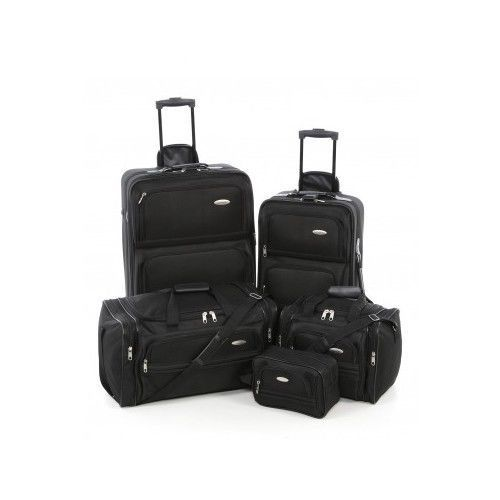 Vintage Avon Travel Duffle Bag Set 17