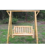 Porch Swing with Frame - $90.00