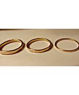 Organic stack ring 14k yellow gold filled choic... - $24.26