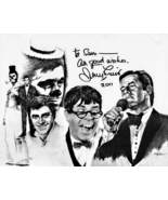 8 x 10 Autographed Photo of Jerry Lewis RP - $8.00