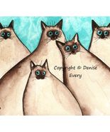 Five_silly_siamese_turquoise_background_cat_aceo_square_thumbtall