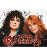8 x 10 Autographed Photo of Heart RP - $7.00