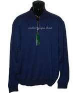 NWT BOBBY JONES Golf  1/2 zip M sweater soft PI... - $99.99