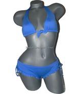 NEW KUSHCUSH Milla bikini swimsuit sassy ruffle... - $74.99
