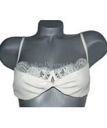 NWT ROSAMOSARIO Italy chantilly lace bra demi $... - $124.99