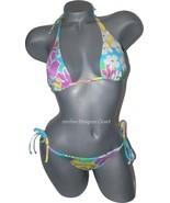 NWT LA PERLA Occhi Verdi 42 6  bikini Italy des... - $89.99