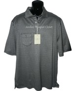 NWT FAIRWAY & GREENE polo golf shirt XL herring... - $59.99