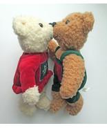 Hallmark KISS Kissing Teddy Bear Stuffed Animal... - $9.89