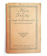 Original 1st Edn1917 Booklet How to Study Georg... - $8.90