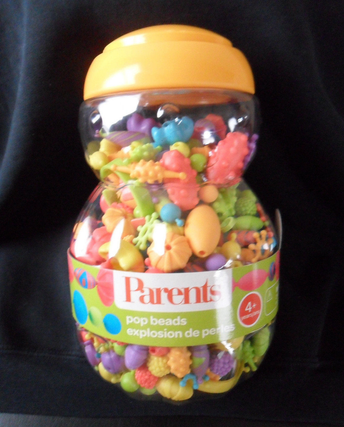 Parents Pop Beads Kids Snap Together Jewelry Craft