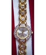 ELIZABETH TAYLOR WHITE DIAMONDS WATCH - $20.00