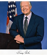 8 x 10 Autographed Photo of Jimmy Carter RP - $8.00