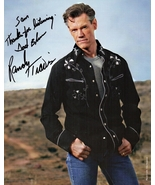 8 x 10 Autographed Photo of Randy Travis RP - $8.00