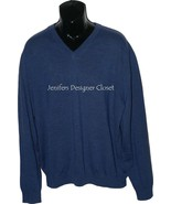 NWT BOBBY JONES Golf  XXL 2XL V-neck sweater bl... - $79.19
