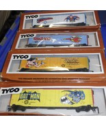 HO Trains  4- DC Super Heroes Box Cars-Superman... - $84.95