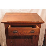 Antique c.1900 Original Craftsman MIssion Oak A... - $495.88