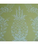 12sr Pineapple Stencil Handprinted Waterhouse D... - $385.11