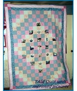 *Customized Handmade Full/Double Size*Quilt* TA... - $220.00