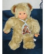 Anne Geddes Bear Doll 15 inch 1997 - $19.99