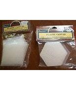 NOSPlastic canvas White Hi Straw Perforated Mot... - $19.99
