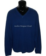 NWT BOBBY JONES Golf $395 blue M 100% Cashmere ... - $158.39
