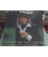 VINTAGE RECORD ROD STEWART A NIGHT ON THE TOWN