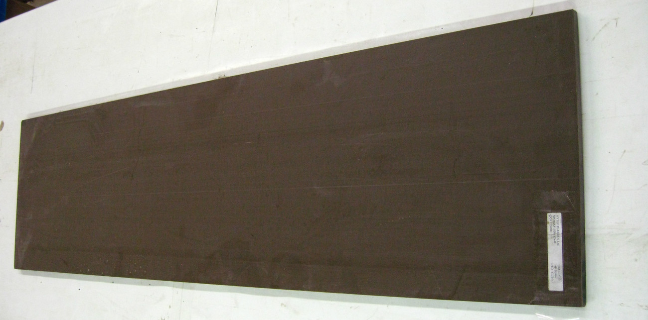 "~ Nytef Plastics Ltd.AF Delrin Sheet .500 x 12"" x 48"" Brown   A-W"