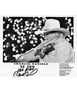 8 x10 Autographed Photo of Charlie Daniels RP - $7.00