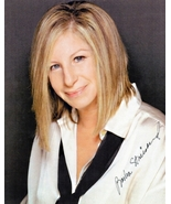 8 x 10 Autographed Photo of Barbra Streisand RP - $4.00