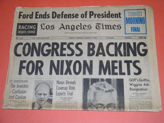 Watergate scandal essay summary