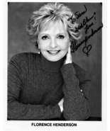 8 x 10 Autographed Photo of Florence Henderson  RP - $7.99