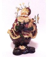 Holiday by Kirkland's Fancy Santa Claus Figurin... - $12.95